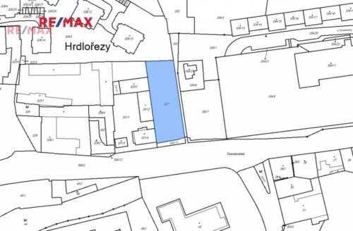 Prodej pozemku 1675 m², Praha 9 - Hrdlořezy